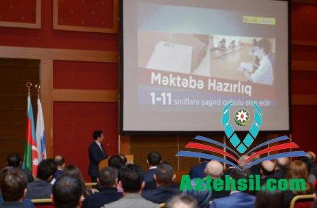 """Yanvarın 14-də """"İdrak"""" liseyinin təşkilatçılığı ilə təqdimat mərasimi keçirilib"""