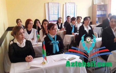 Göygöl rayonunda zona seminarları keçirilir.