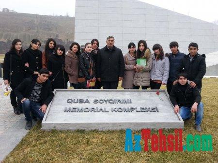 ADPU-nun Quba Filialında 20 Yanvar faciəsinə həsr edilən anım mərasimi keçirilib