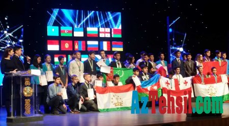 Məktəblilərimiz Jautıkov olimpiadasında 4 medal qazanıb