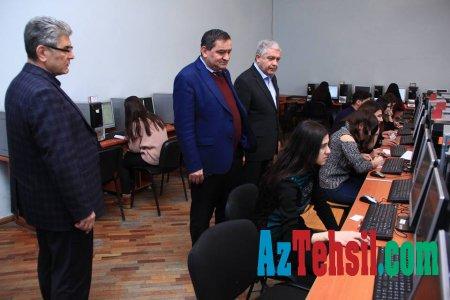 Təhsil ekspertləri ADPU-da imtahan prosesini müşahidə ediblər